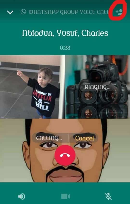 WhatsApp Group Voice and video calls