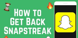 How to Restore Your Lost Snapchat Streak