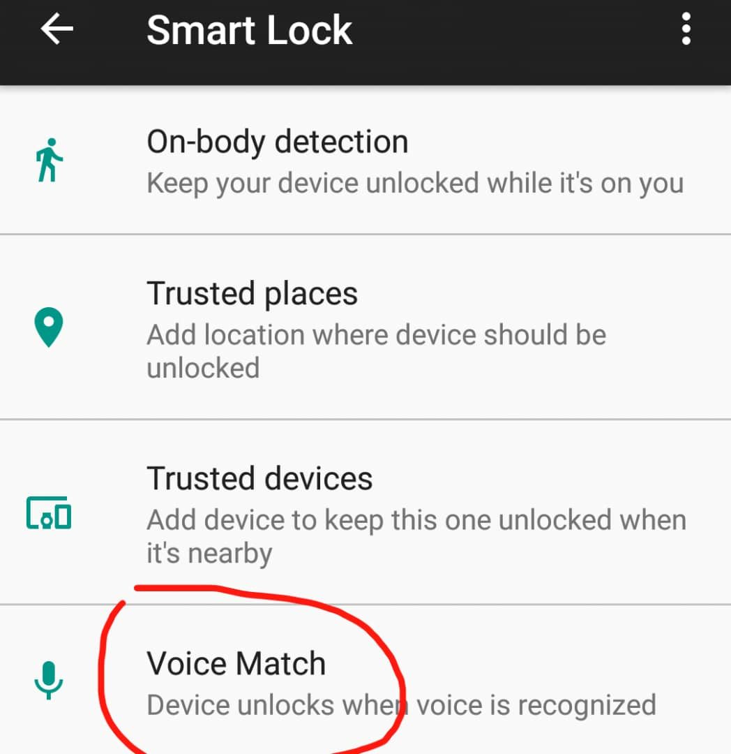 unlock your phone with Google Assistant