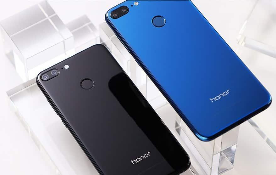 Huawei Honor 9i design