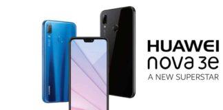 Huawei Nova 3E display