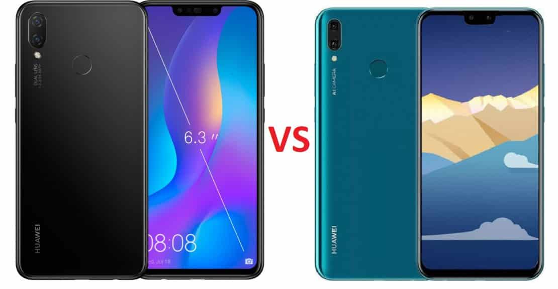 Huawei Nova 3i Vs Huawei Y9 2019