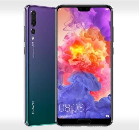 Huawei P20 Pro-android phones with notch display