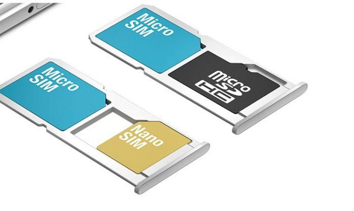 Hybrid Dual SIM Slot