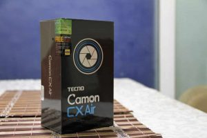 TECNO Camon CX Air Unboxing