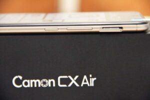 Camon CX Air SDcard slot