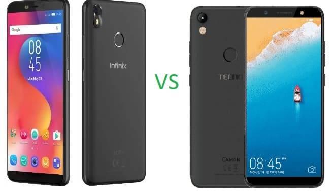 Infinix Hot S3 vs TECNO Camon CM