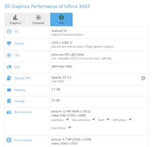 Infinix X603