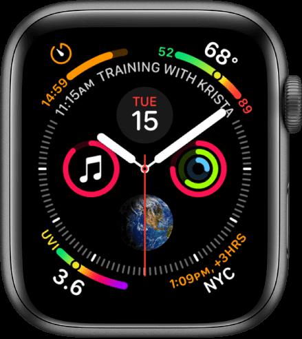 Infograph apple watch face