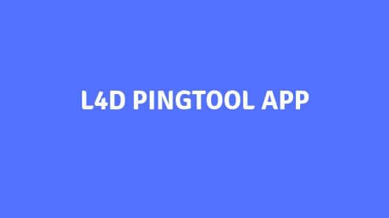 L4D PINGTOOL APP