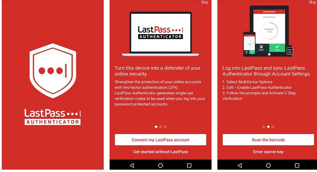LassPass Authenticator