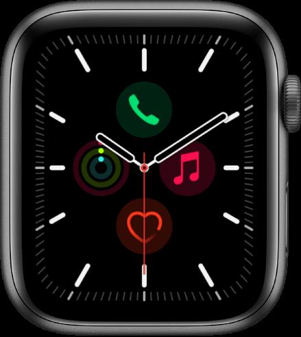 Meridian apple watch face