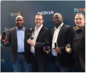 Nokia smartphone range