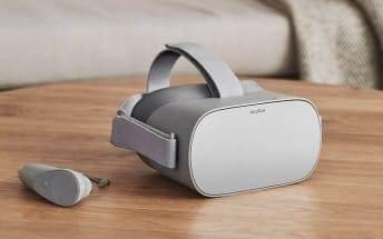Facebook Oculus Go.