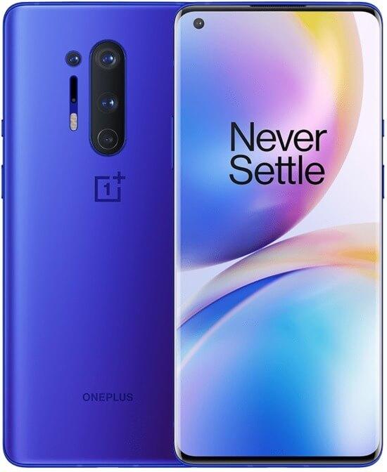 OnePlus 8 Pro blue color
