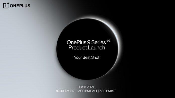 Oneplus 9 series announcemenet