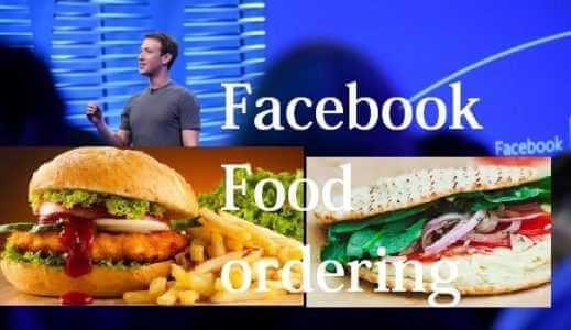 order food on facebook