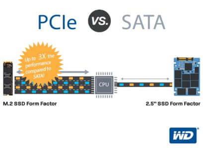 PCIe Vs SATA SSD