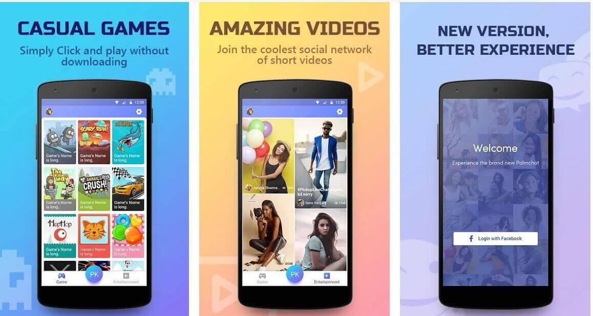 Palmchat app