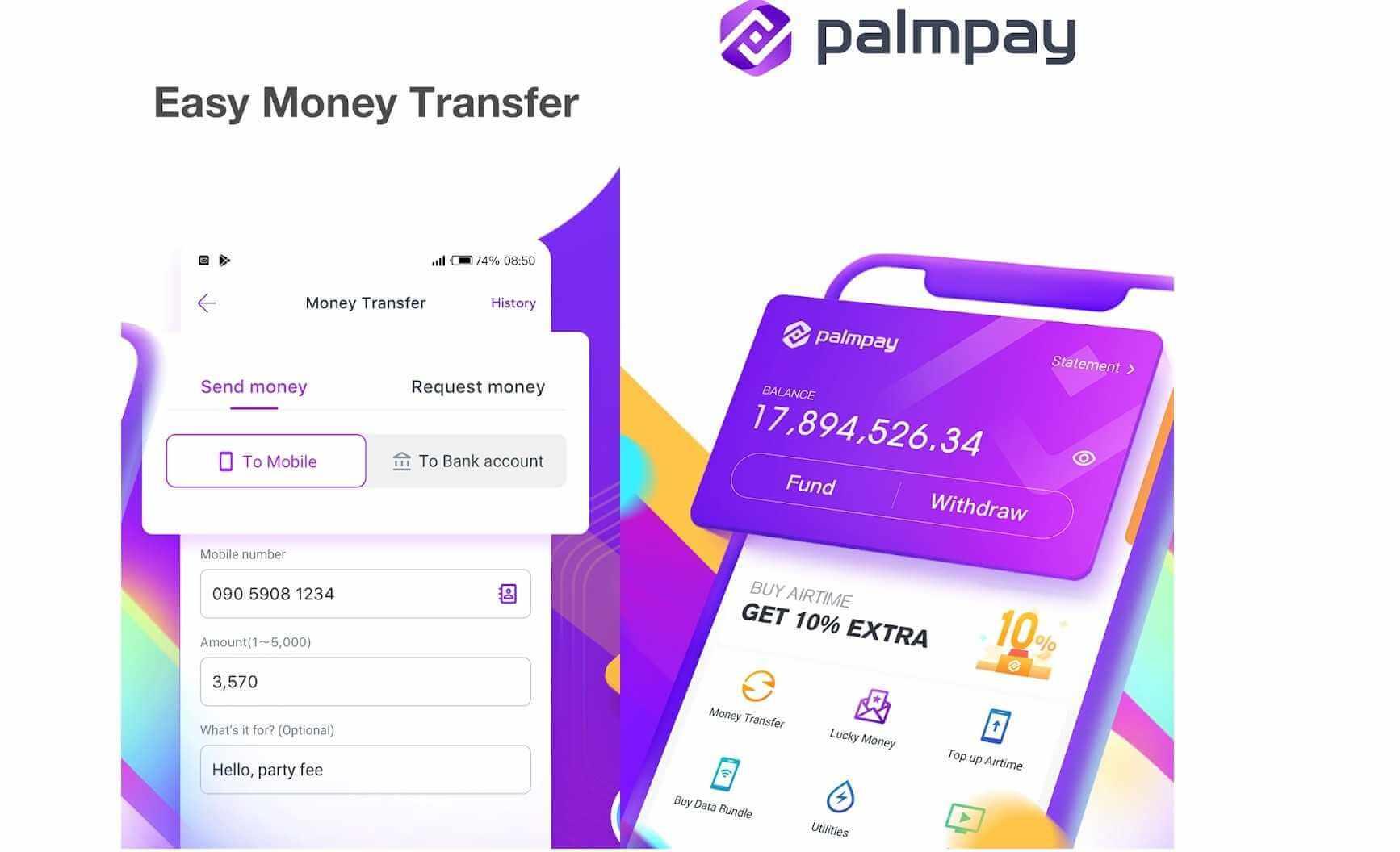 Palmpay uses 2