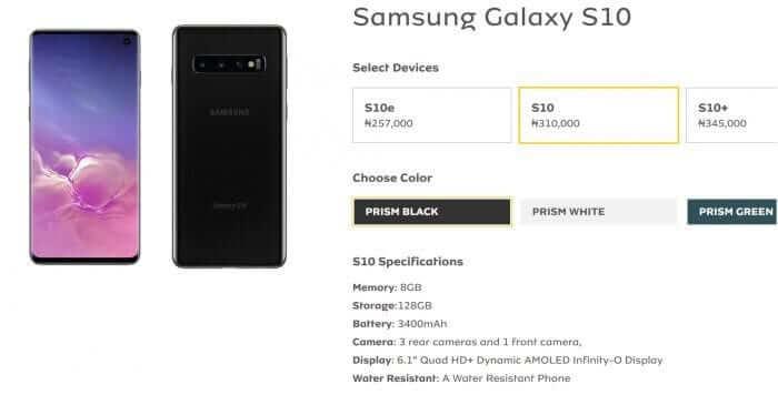 Pre-order the Samsung Galaxy S10, S10e, S10 Plus