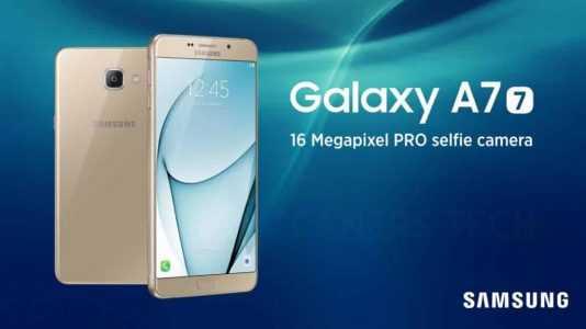 Samsung Galaxy A7 2017 launch date