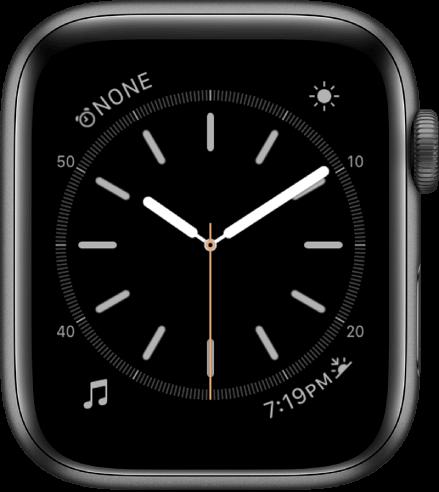 Simple apple watch face