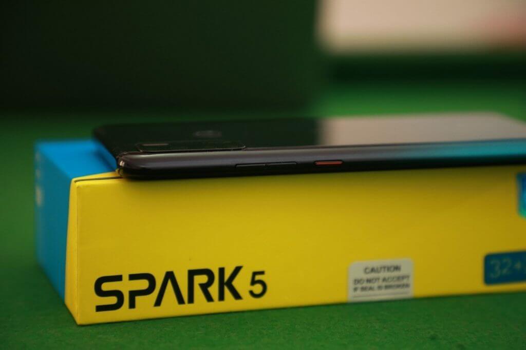 Spark 5 buttons