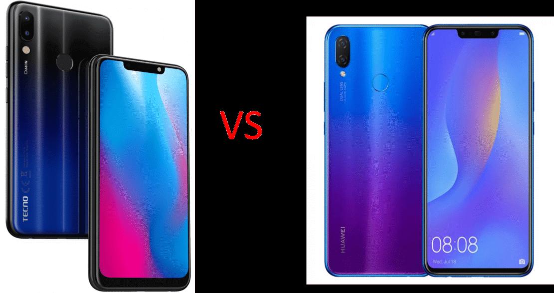 Tecno Camon 11 Pro Vs Huawei Nova 3i: Which offers value for money?