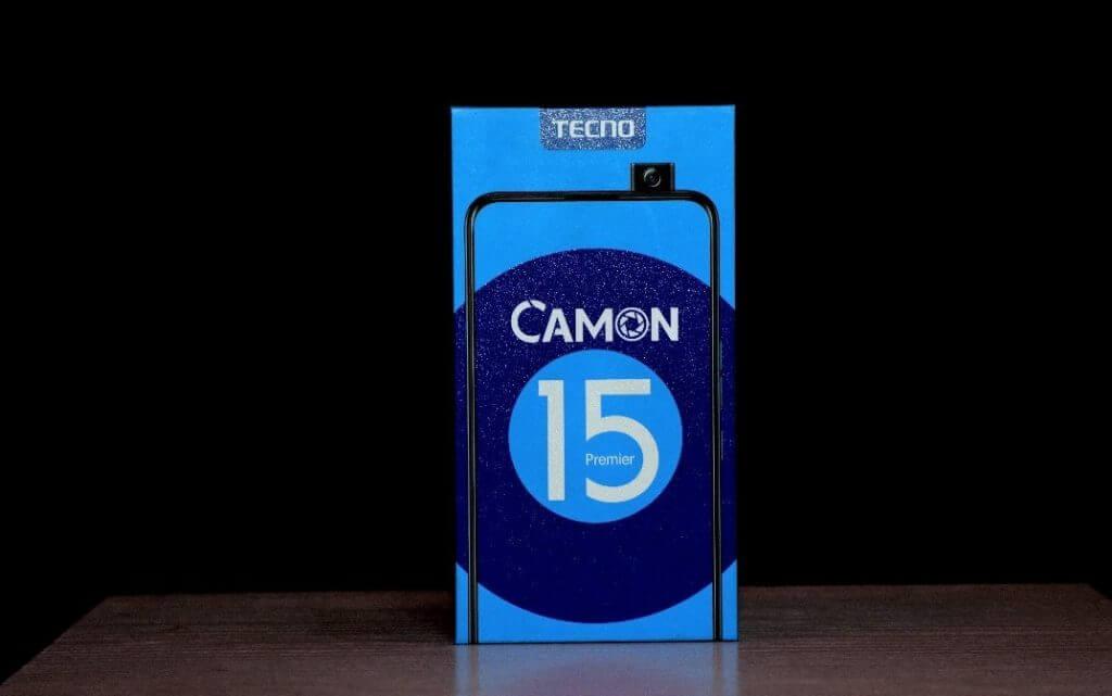 TECNO Camon 15 Premier box