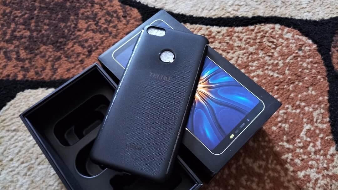 TECNO Camon X Pro unboxing case