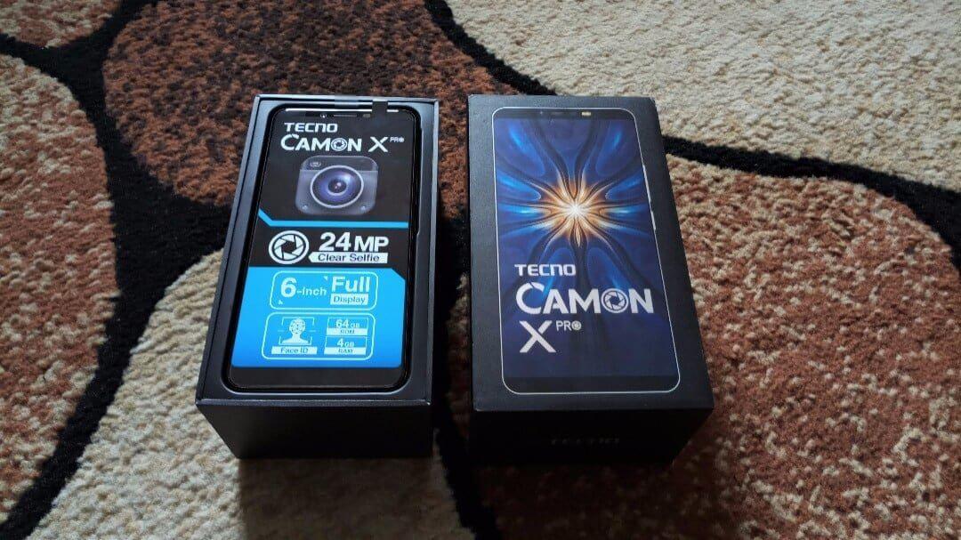 TECNO Camon X Pro unboxing