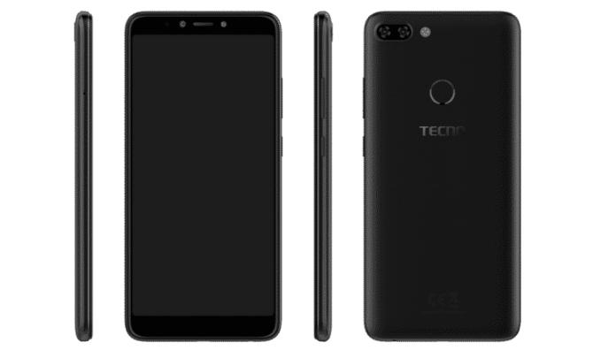 TECNO Camon i Twin feature