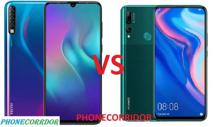 TECNO Phantom 9 Vs Huawei Y9 Prime 2019