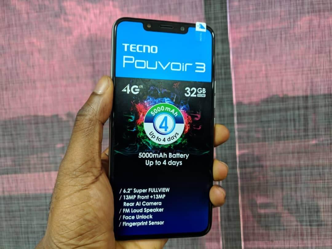 TECNO Pouvoir 3 display