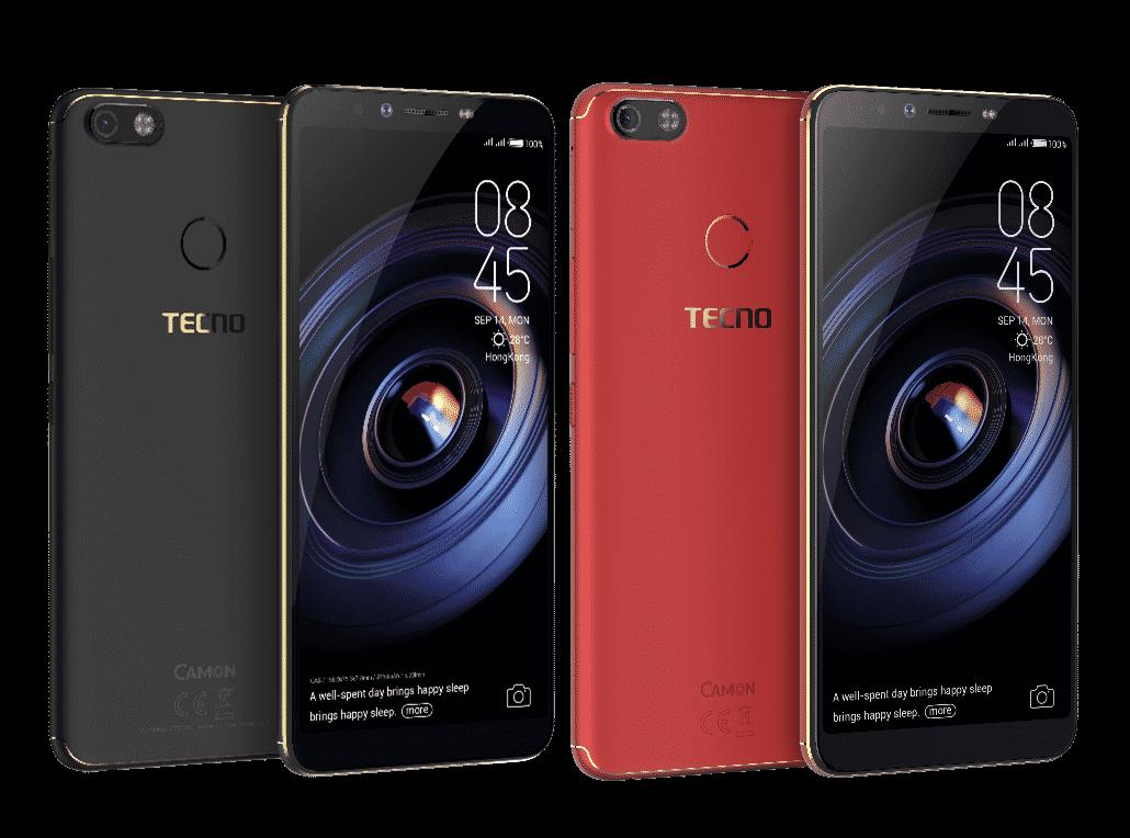 Tecno Camon X Pro design