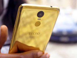 Tecno pouvoir 2 Pro 18karat Gold