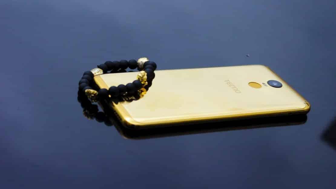 Tecno pouvoir 2 Pro 18karat Gold cover