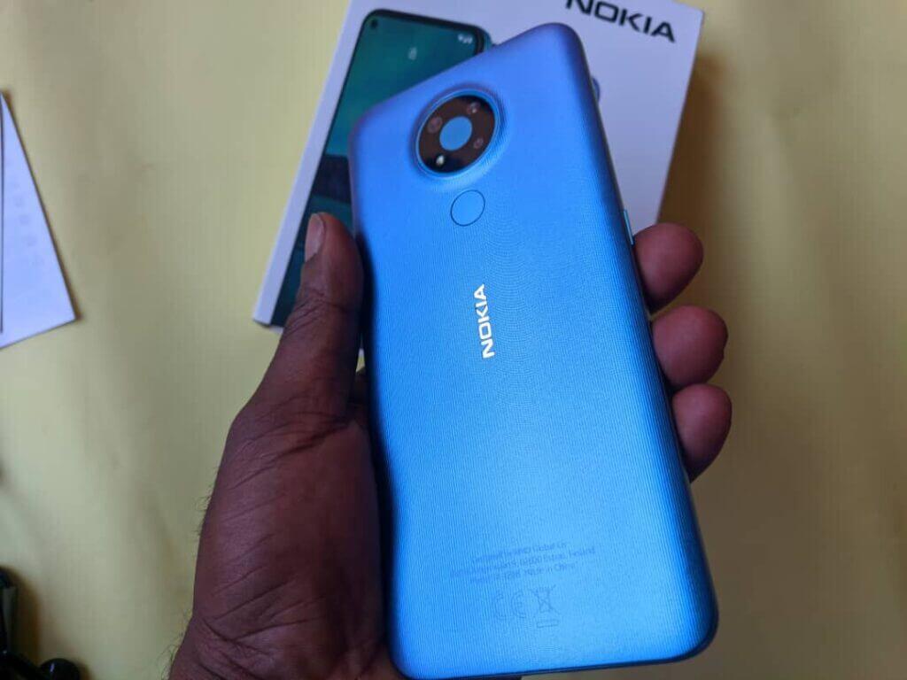 Nokia 3.4 design