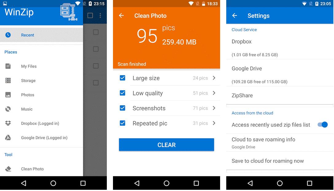 Easy Unrar, Unzip & Zip-Zip Files, Rar, Unzip, Android,