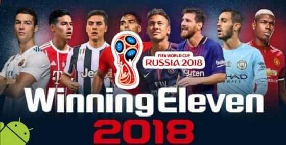 Winning Eleven 2018 apk + data obb