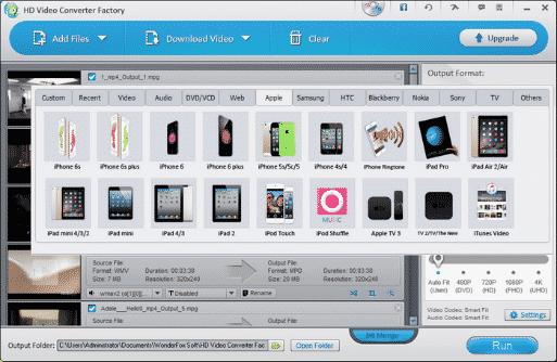 WonderFox HD Video Converter Factory Pro 2