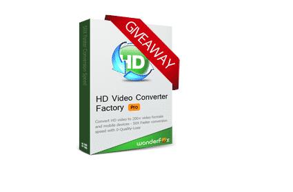 WonderFox HD Video Converter Factory Pro Giveaway