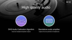 Xiaomi Mi 5X audio