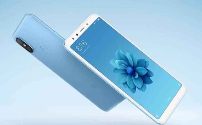 Xiaomi Mi 6X display