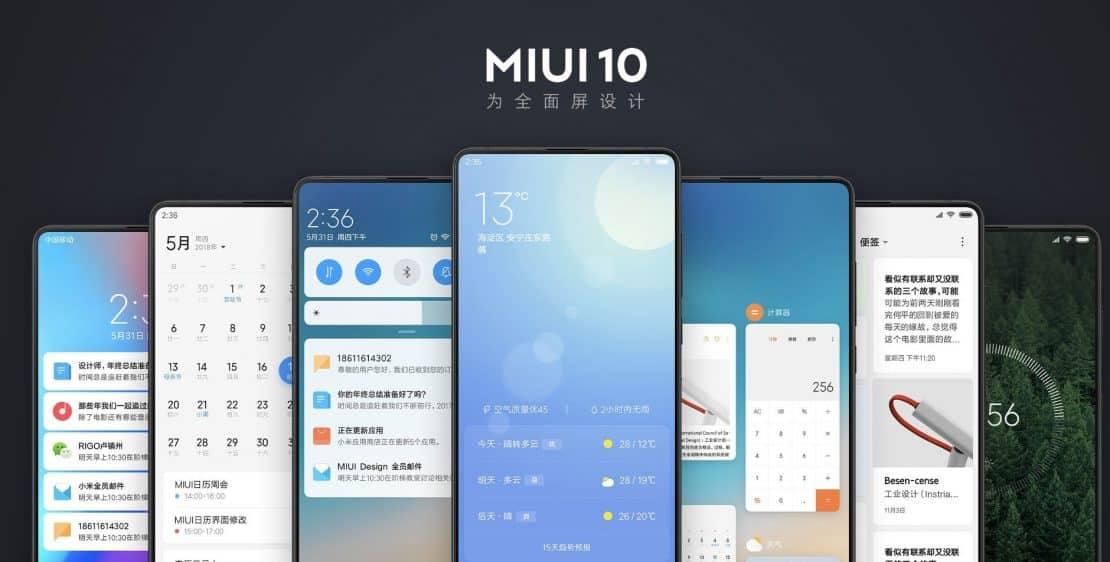 Xiaomi miui 10