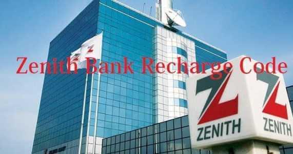 Zenith Bank Airtime Recharge Code