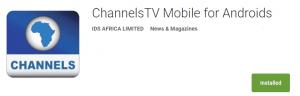 ChannelsTV app