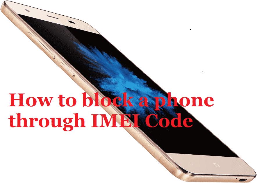 block stolen phone