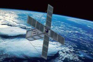 Futa satellite into space